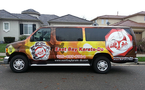 East Bay Karate-Do Van