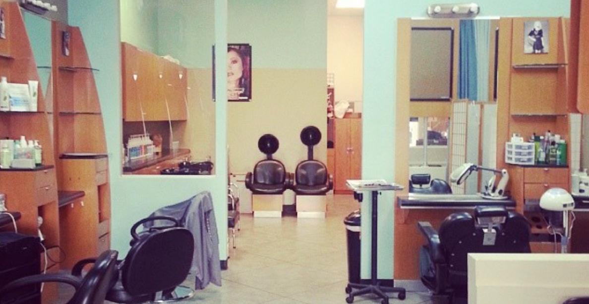 Inside Hair Salon Studio